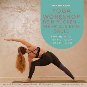 Yoga Workshop Dein Rücken – mehr als eine Säule